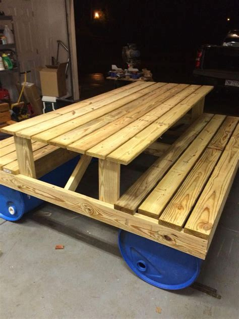 Plans To Make A Floating Picnic Table