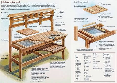 Plans for a bench.aspx Image