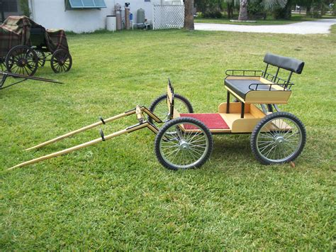Plans for building a miniature horse cart Image