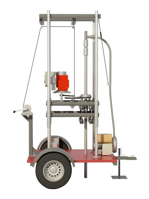 Plans for homemade well drilling rig Image