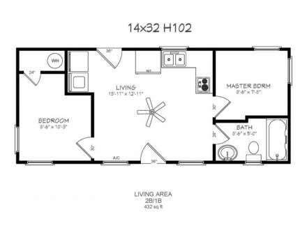 Plans-16x32-Barn-Cabin-With-Loft