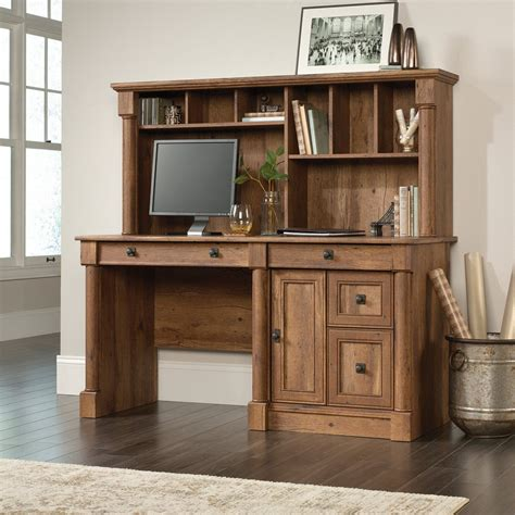 Plans-Computer-Desk-With-Hutch