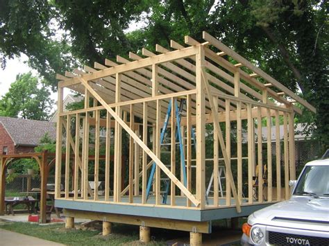 Plans-For-A-Flat-Roof-Shed