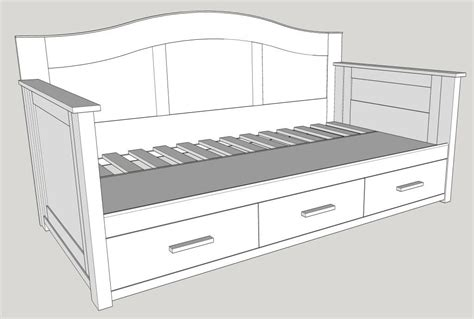 Plans-For-A-Home-Made-Storage-Bed