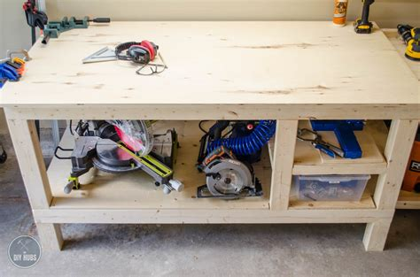 Plans-For-A-Small-Workbench-On-Wheels