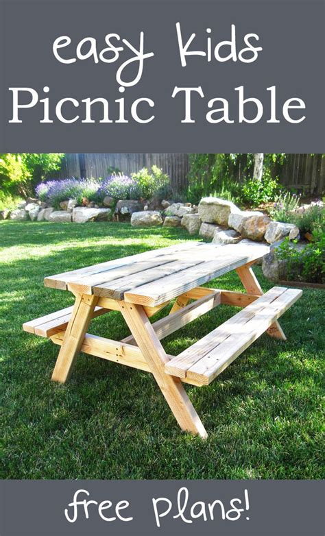 Plans-For-A-Sturdy-Childrens-Picnic-Table