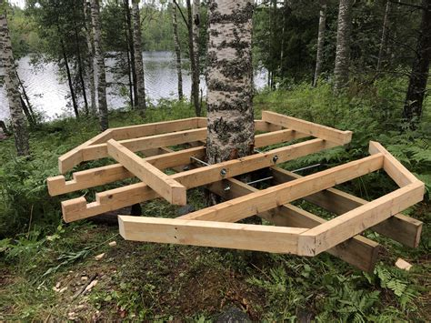Plans-For-A-Treehouse-Platform