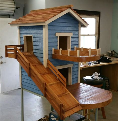 Plans-For-A-Two-Story-Dog-House