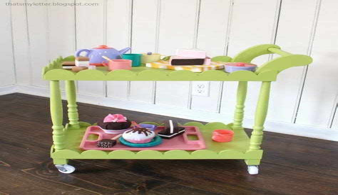 Plans-For-A-Wooden-Tea-Cart