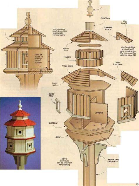Plans-For-An-Octagon-Bird-House