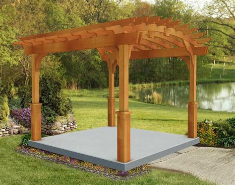 Plans-For-Arched-Pergola