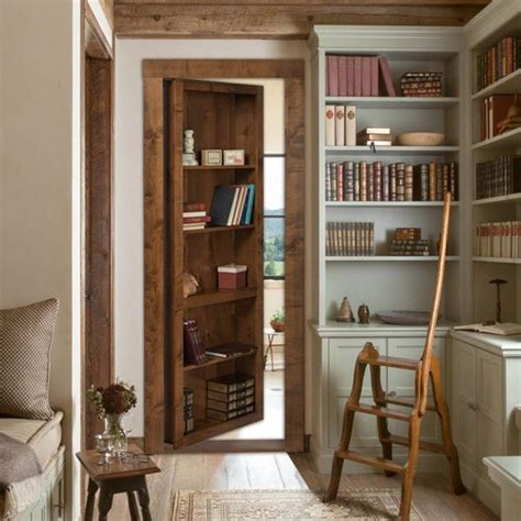 Plans-For-Bookcase-With-Hidden-Storage