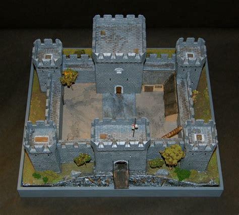 Plans-For-Building-A-Model-Castle