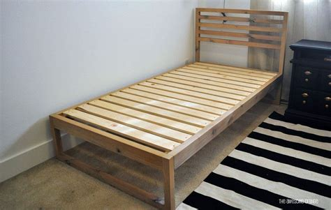 Plans-For-Building-A-Twin-Bed-Frame