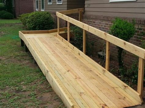 Plans-For-Building-A-Wooden-Wheelchair-Ramp