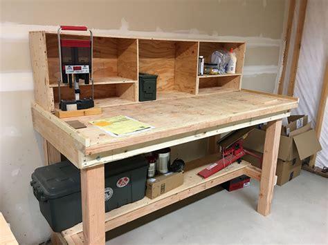Plans-For-Building-Garage-Workbench