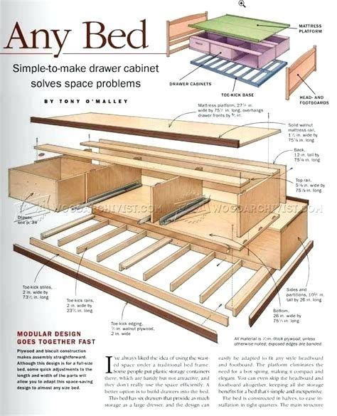 Plans-For-Building-Under-Bed-Storage