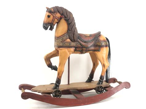 Plans-For-Carving-A-Carousel-Horse
