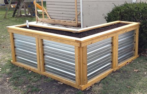 Plans-For-Corrugated-Raised-Garden-Beds