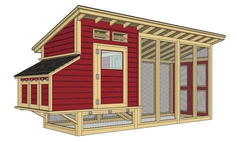 Plans-For-Making-A-Chicken-House