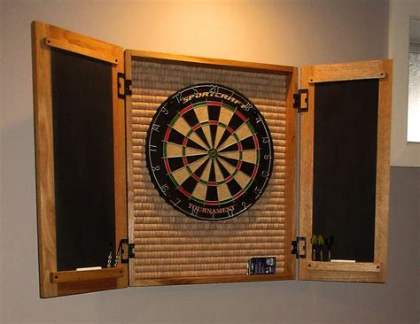 Plans-For-Making-A-Dart-Board-Cabinet