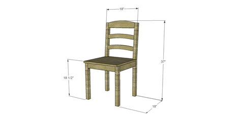 Plans-For-Making-A-Dining-Chair