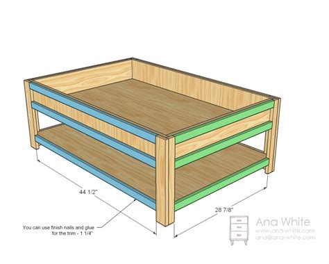 Plans-For-Making-A-Train-Table