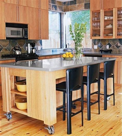 Plans-For-Moveable-Kitchen-Island-With-Seating