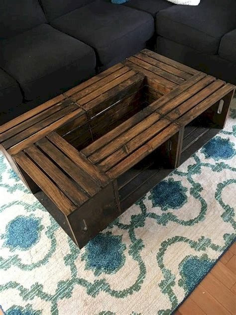 Plans-For-Pallet-Wood-Crate-Coffee-Table