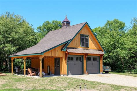 Plans-For-Pole-Barn-Construction-Apartment-With-Double-Garage