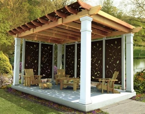 Plans-For-Privacy-Screen-For-Pergola