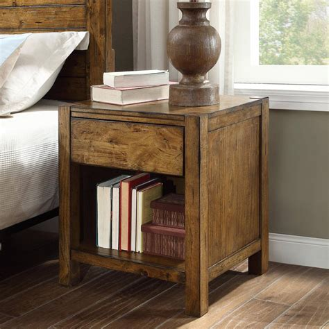 Plans-For-Rustic-Nightstand