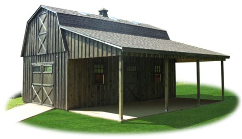 Plans-For-Small-Gambrel-Roof-Shed-With-Lean-To