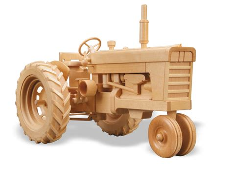 Plans-For-Steerable-Toy-Wooden-Tractor