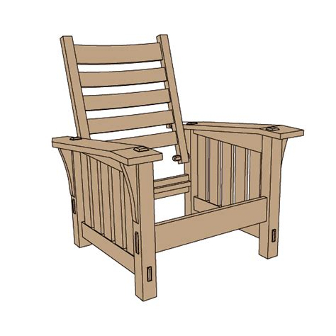Plans-For-Stickley-Morris-Chair