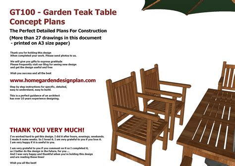 Plans-For-Teak-Outdoor-Furniture