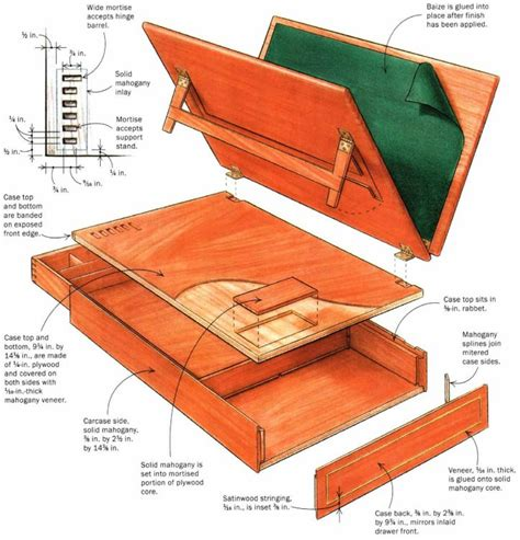 Plans-For-Thomas-Jefferson-Writing-Desk