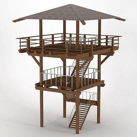 Plans-For-Wooden-Observation-Tower-Platform