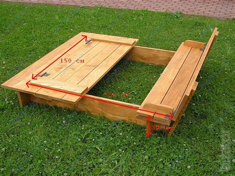 Plans-For-Wooden-Sandbox