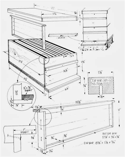 Plans-To-Build-A-Bee-Box