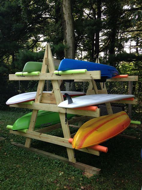 Plans-To-Build-A-Canoe-Rack