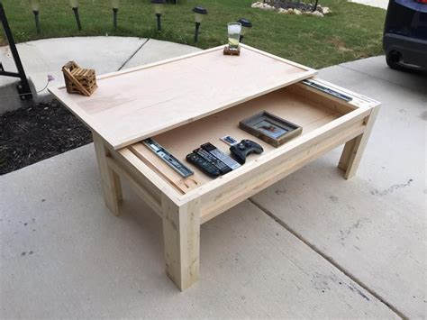Plans-To-Build-A-Desk-With-A-Top-That-Opens