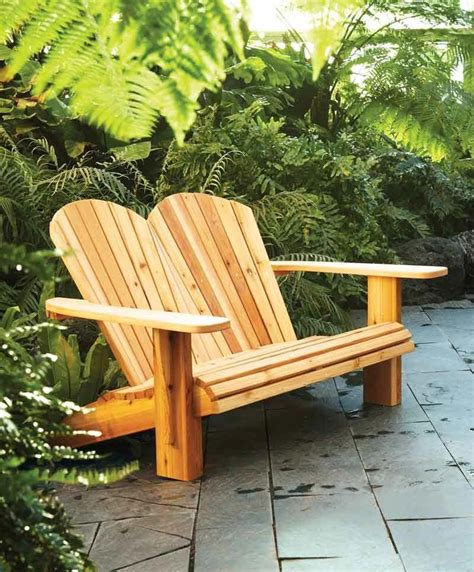 Plans-To-Build-A-Double-Adirondack-Chair