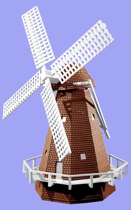 Plans-To-Build-A-Dutch-Windmill