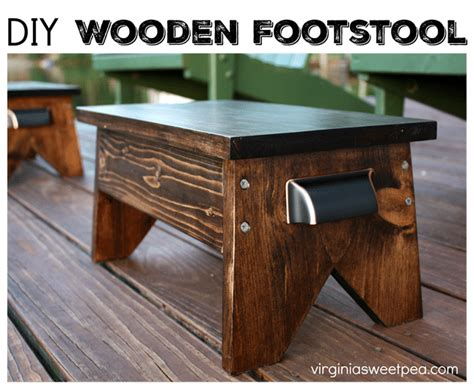 Plans-To-Build-A-Footstool
