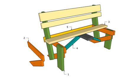 Plans-To-Build-A-Garden-Bench