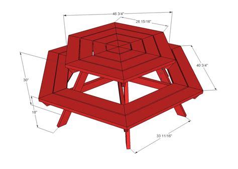 Plans-To-Build-A-Hexagon-Picnic-Table