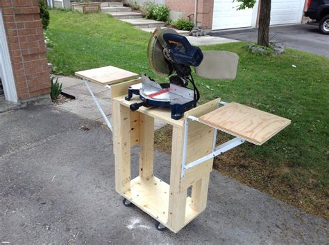 Plans-To-Build-A-Miter-Saw-Stand