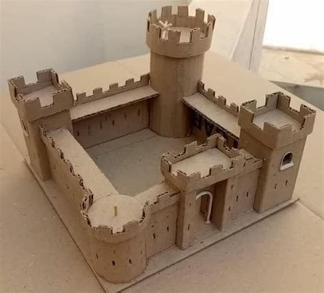 Plans-To-Build-A-Model-Castle
