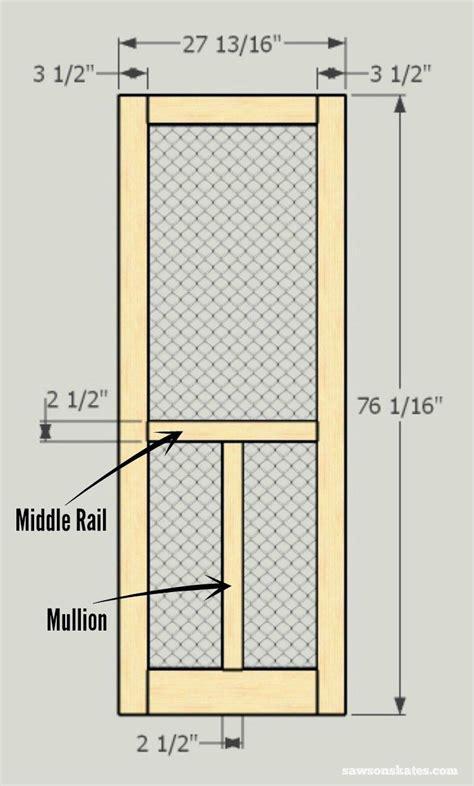 Plans-To-Build-A-Simple-Wooden-Screen-Door